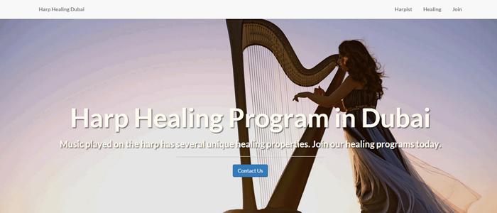 Harp Healing Dubai Music & Meditation